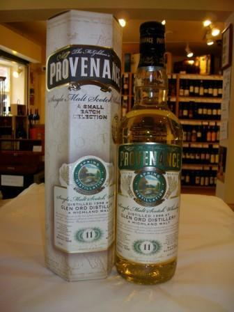 Glen Ord 11 Year Old Provenance - Buy Whisky On-line
