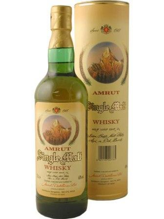Amrut - Indian Single Malt - No age - Whiskies Across the Oceans - Buy Indian Whisky Online