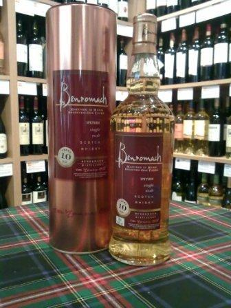 Benromach 10 Year Old Scotch Whisky.  By Whisky Online