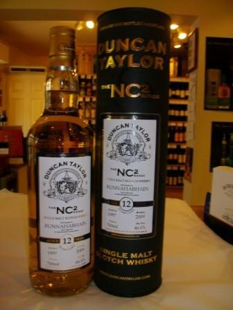 Bunnahabhain NC2 12 Year Old Duncan Taylor - Scotch Whisky - Buy Islay Whisky Online