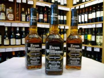 Evan Williams Extra Aged Kentucky Bourbon.  Buy Whisky Online