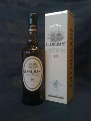 Glen Grant 10 Year Old - Scotch Whisky - Buy Speyside Whisky Online