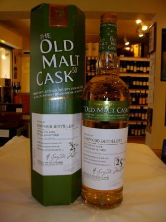 Linkwood 25 Year Old - Old Malt Cask - Speyside Single Malt Whisky - Buy Whisky On-line
