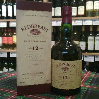 Red Breast Irish Whiskey 12 Year Old - Irish Whiskey - Whisky by mail order