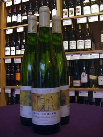 Frey-Sohler Riesling Vendanges Tardives 1997 - Medium - Buy Wine Online
